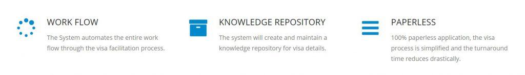 Visa Management Software System